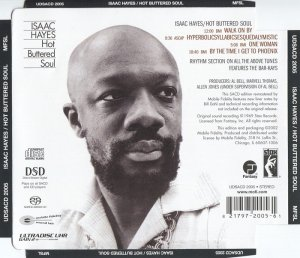 Isaac Hayes - Hot Buttered Soul (1969) [MFSL SACD 2003] PS3 ISO + HDTracks