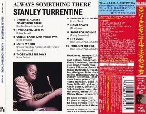 Stanley Turrentine - Always Something There (1968) [2014 Japan SHM-CD 24-192 Remaster]