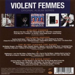 Violent Femmes - Original Album Series [5CD Box Set] (2011)