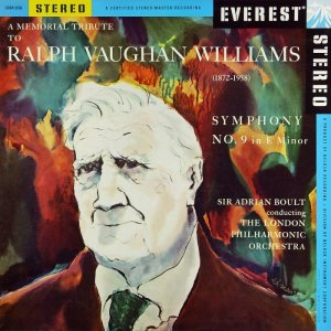 London Philharmonic Orchestra, Sir Adrian Boult - A Memorial Tribute to Ralph Vaughan Williams: Symphony No. 9 (1958/2013) [HDTracks]