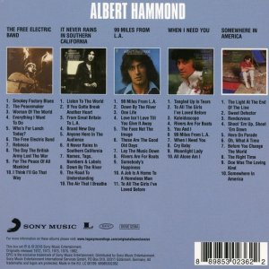 Albert Hammond - Original Album Classics (2016)