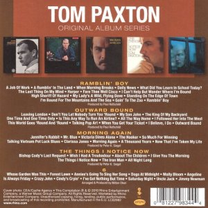Tom Paxton - Original Album Series [5CD Box Set] (2010)