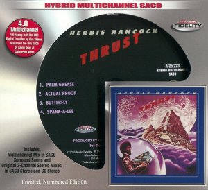 Herbie Hancock - Thrust (1974) [Audio Fidelity SACD 2016] PS3 ISO + HDTracks
