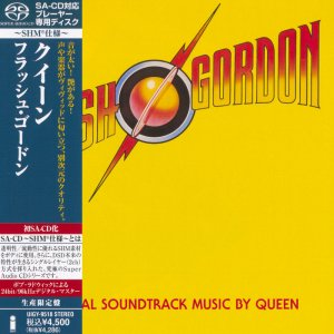 Queen - Flash Gordon (1980) [Japanese Limited SHM-SACD 2012] PS3 ISO + HDTracks