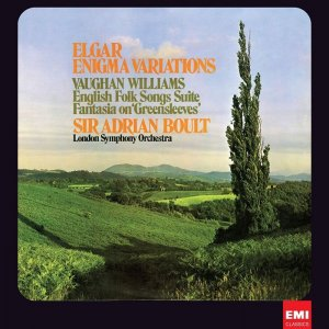 London Symphony Orchestra, Sir Adrian Boult - Elgar: Enigma Variations; Vaughan Williams: Fantasia on Greensleeves (1971) [2012] [HDTracks]