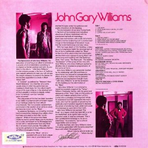 John Gary Williams - John Gary Williams (1973) [Japan Mini LP-CD 1997]
