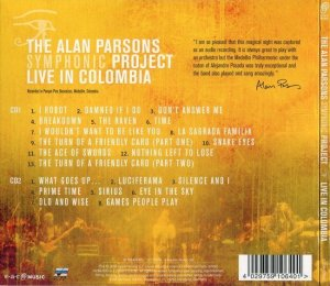 The Alan Parsons Symphonic Project - Live In Colombia (2016)