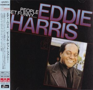 Eddie Harris - People Get Funny... (1987) [2015 Japan]