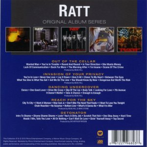 Ratt - Original Album Series (2013)