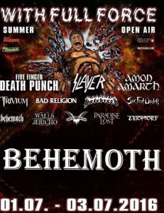 Behemoth - With Full Force Festival XXIII (2016) [HDTV 720p]