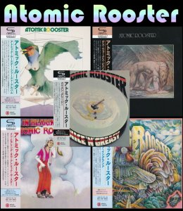 Atomic Rooster - Collection: 5 Albums Mini LP SHM-CD (2016)