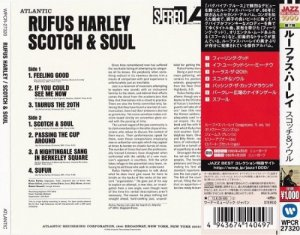 Rufus Harley - Scotch & Soul (1966) [2013 Japan]