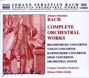 Johann Sebastian Bach - Complete Orchestral Works [8CD Box Set] (2000)