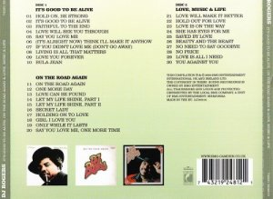 D. J. Rogers - It's Good To Be Alive, On The Road Again & Love, Music & Life (2002)