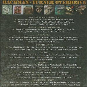 Bachman-Turner Overdrive - Classic Album Set (2016)