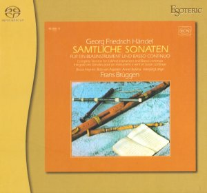 Frans Bruggen - Handel: The Wind Instruments Sonatas (1974/2011)