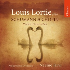 Louis Lortie - Louis Lortie plays Schuman & Chopin Piano Concertos (2010)