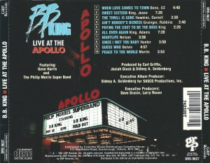 B.B. King - Live At The Apollo (1991)