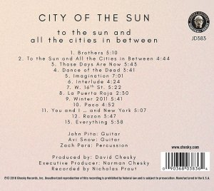 City of the Sun - To the Sun and All the Cities in Between (2016) [HDTracks]