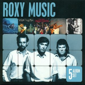 Roxy Music - 5 Album Set (2012)