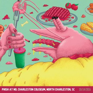 Phish - 2016-10-14 North Charleston Coliseum - North Charleston, SC (2016)