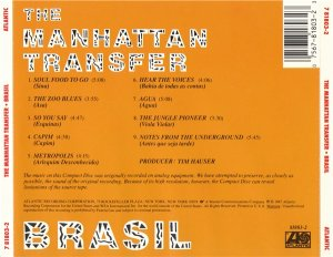 The Manhattan Transfer - Brasil (1987)