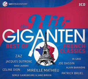 VA - Die Hit Giganten: Best Of French Classics [3CD Box-Set] (2016)