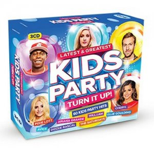 VA - Latest & Greatest Kids Party - Turn It Up! [3CD Box Set] (2015)