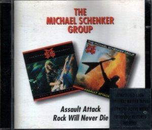 The Michael Schenker Group - Assault Attack / Rock Will Never Die (1982/84) [2CD Reissue 1996]