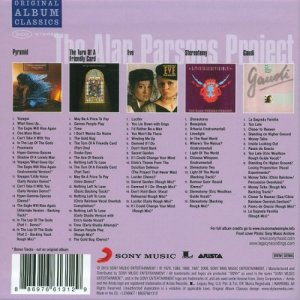 The Alan Parsons Project - Original Albums Classics [5CD Box Set] (2010)