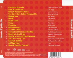 VA - Memories & Golden Hits [SACD] (2016) PS3 ISO