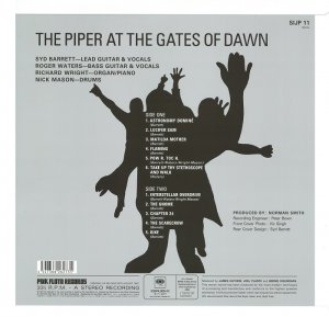 Pink Floyd - The Piper At The Gates Of Dawn [Mastered from the Original Master Tapes] (2016) LP