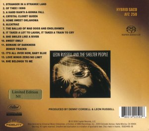 Leon Russell - Leon Russell and the Shelter People [AF SACD] (2016) PS3 ISO