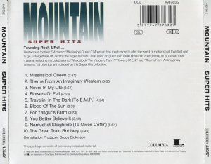 Mountain - Super Hits (1998)