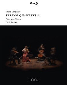 Franz Schubert - String Quartets #1: Live in Barcelona (2016)[BDRip 1080p]