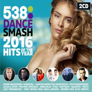 VA - 538 Dance Smash Hits Of The Year 2016 (2016)