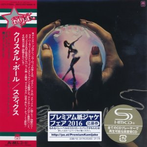 Styx - Crystal Ball [Japan Mini LP SHM-CD] (2016)