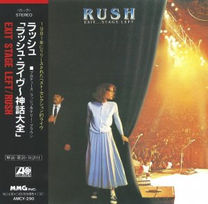 Rush - Exit... Stage Left [Japanese Edition] (1991)