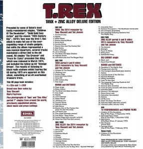 T. Rex - Tanx And Zinc Alloy (2014) [ Deluxe Box Set]