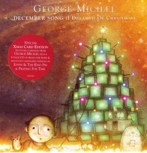 George Michael - December Song (I Dreamed Of Christmas) (UK CD Single) (2009)