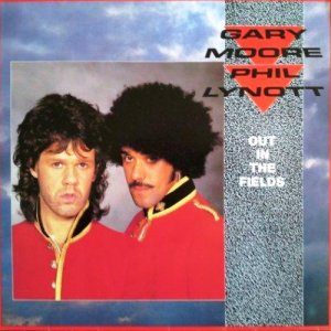 Gary Moore / Philip Lynott - Out In The Fields (1985) [EP, Vinyl Rip 24/96]