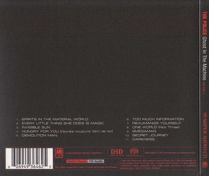 ghost in the machine sacd