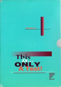 VA - The Best Of: This Is Only A Test! (8CD) (1992)