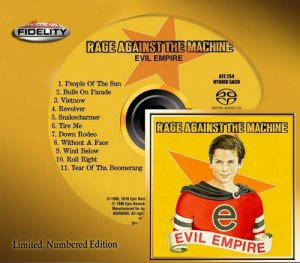 Rage Against The Machine - Evil Empire (1996) [Remastered 2016]