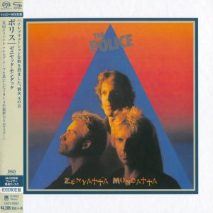 The Police - Zenyatta Mondatta (1980) [Japanese SHM-SACD 2014] PS3 ISO + HDTracks