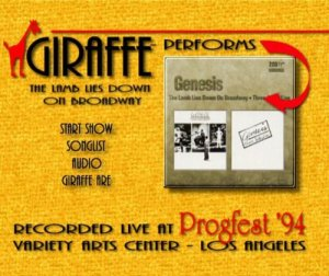 Giraffe - The Lamb Lies Down On Broadway: Recorded Live At Progfest '94 (2002) [DVD5]