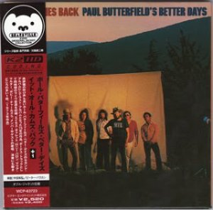 Paul Butterfield's Better Days - It All Comes Back (1973)