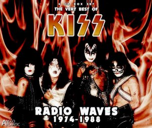 KISS - Radio Waves 1974-1988 - The Very Best Of Kiss [4CD Box Set] (2016)