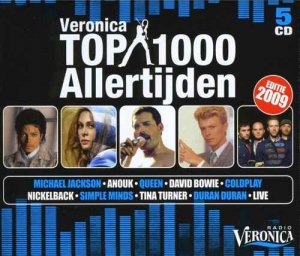 VA - Veronica Top 1000 Allertijden: Editie 2009 [5CD Box Set] (2009)