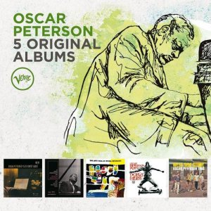 Oscar Peterson - 5 Original Albums (Box-Set) (2016)